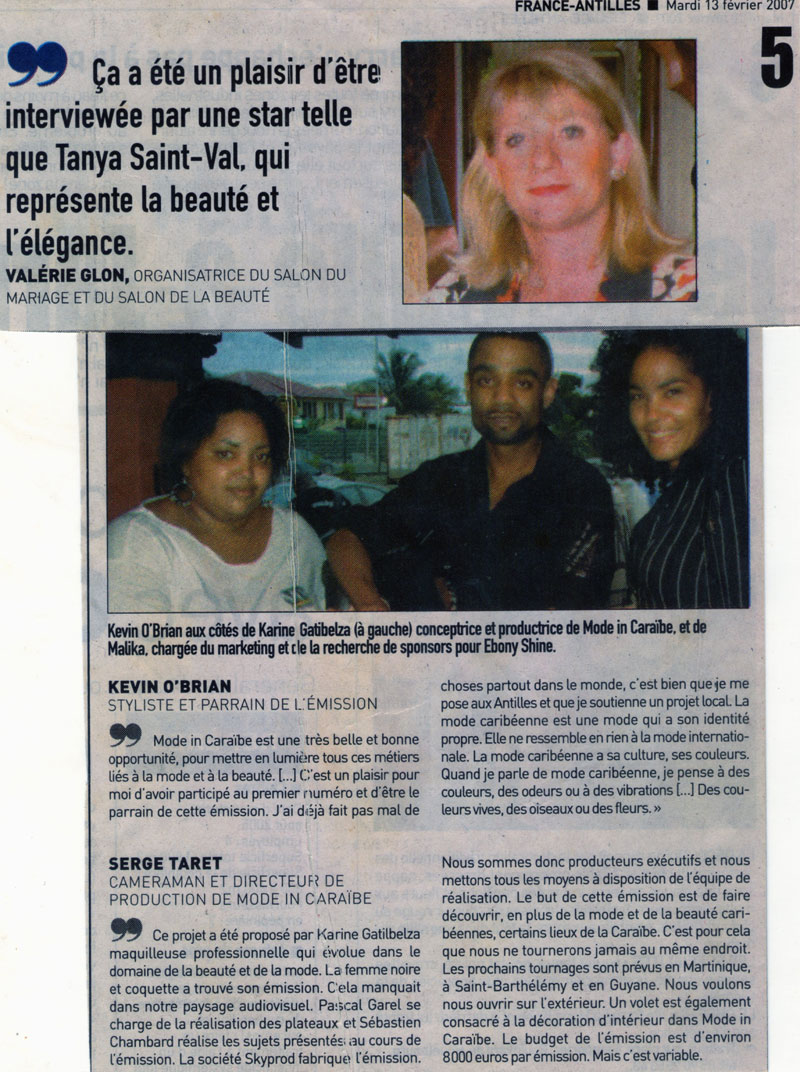 France Antilles - article a - 2007.jpg