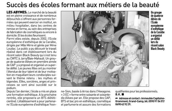France Antilles - article c - 2009.jpg