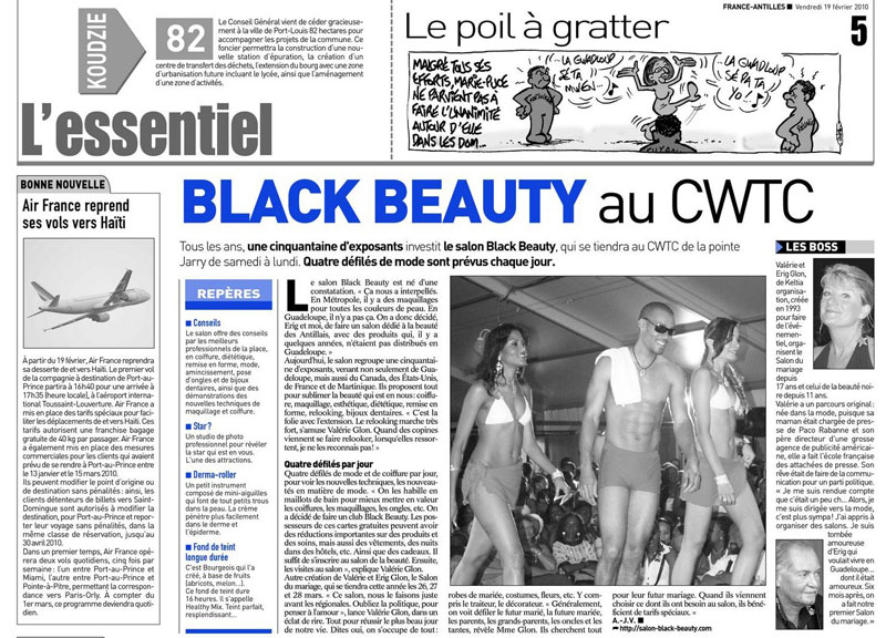 France Antilles - article - 2010.jpg